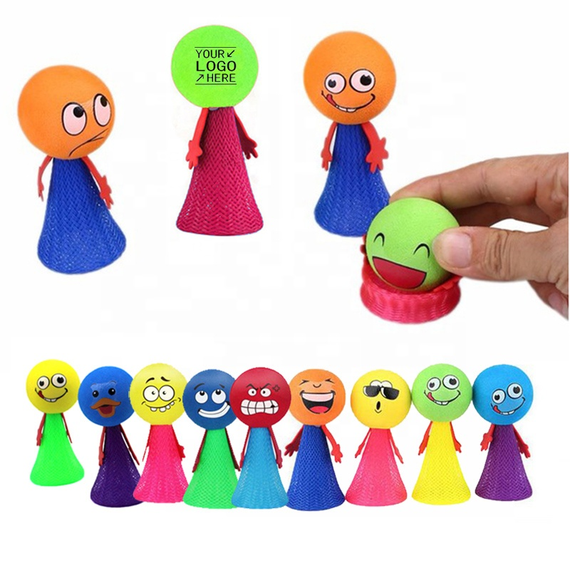 Novelty mega jump elf small size small cheap toys bounce wizard toys for children with customized logo