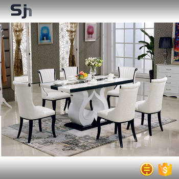 2016 new design kitchen dining room furniture tables an for Latest dining table designs 2016