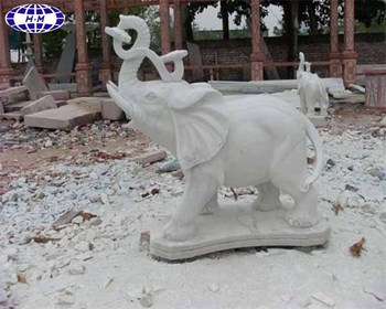 White Marble Elephant Garden Water Fountain Product On Alibaba