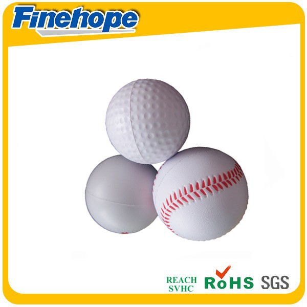 Stress ball type and foam pu material tennis ball