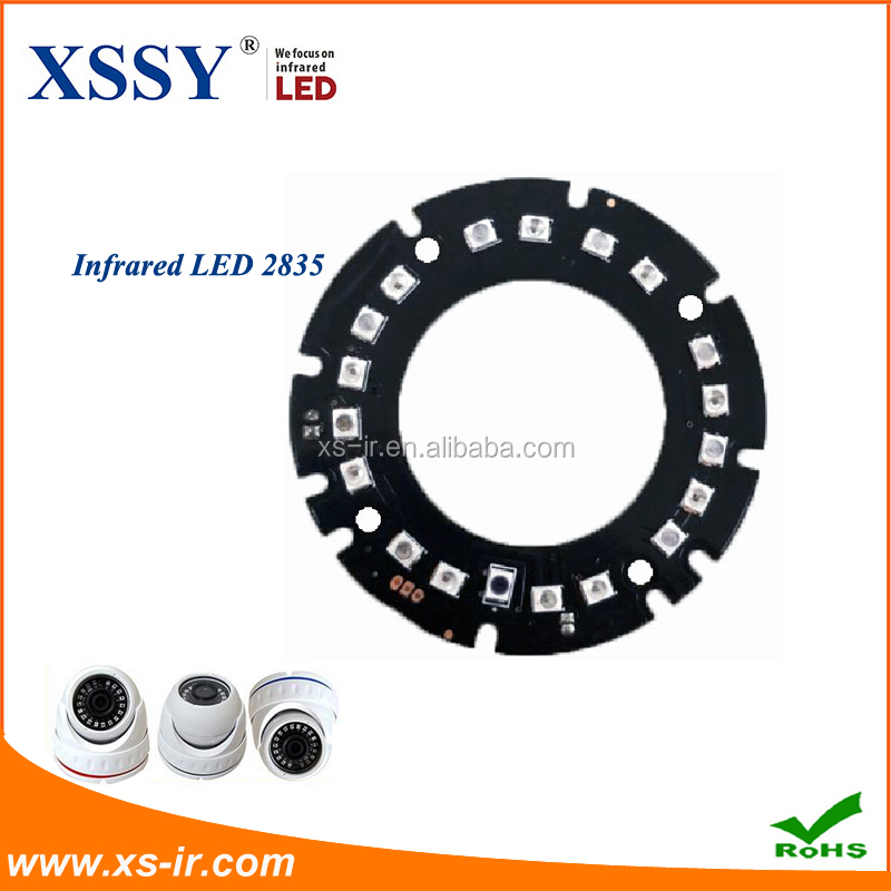 Infrared Round Board 18 IR Red LED Lamp for wavelength 850nm CCTV Security Camera