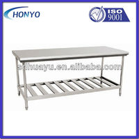 HUAYU customized stainless steel table