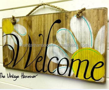 Welcome Board Handmade Wooden Rustic Signs Buy Custom Wood Signswooden Signwood Craft Signs Product On Alibabacom