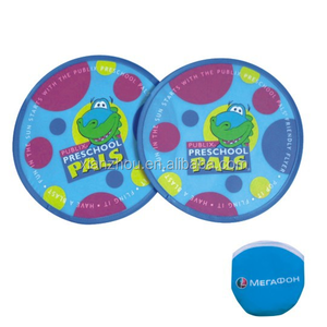 Promotional Foldable Fabric Frisbee Printed Flying Disc