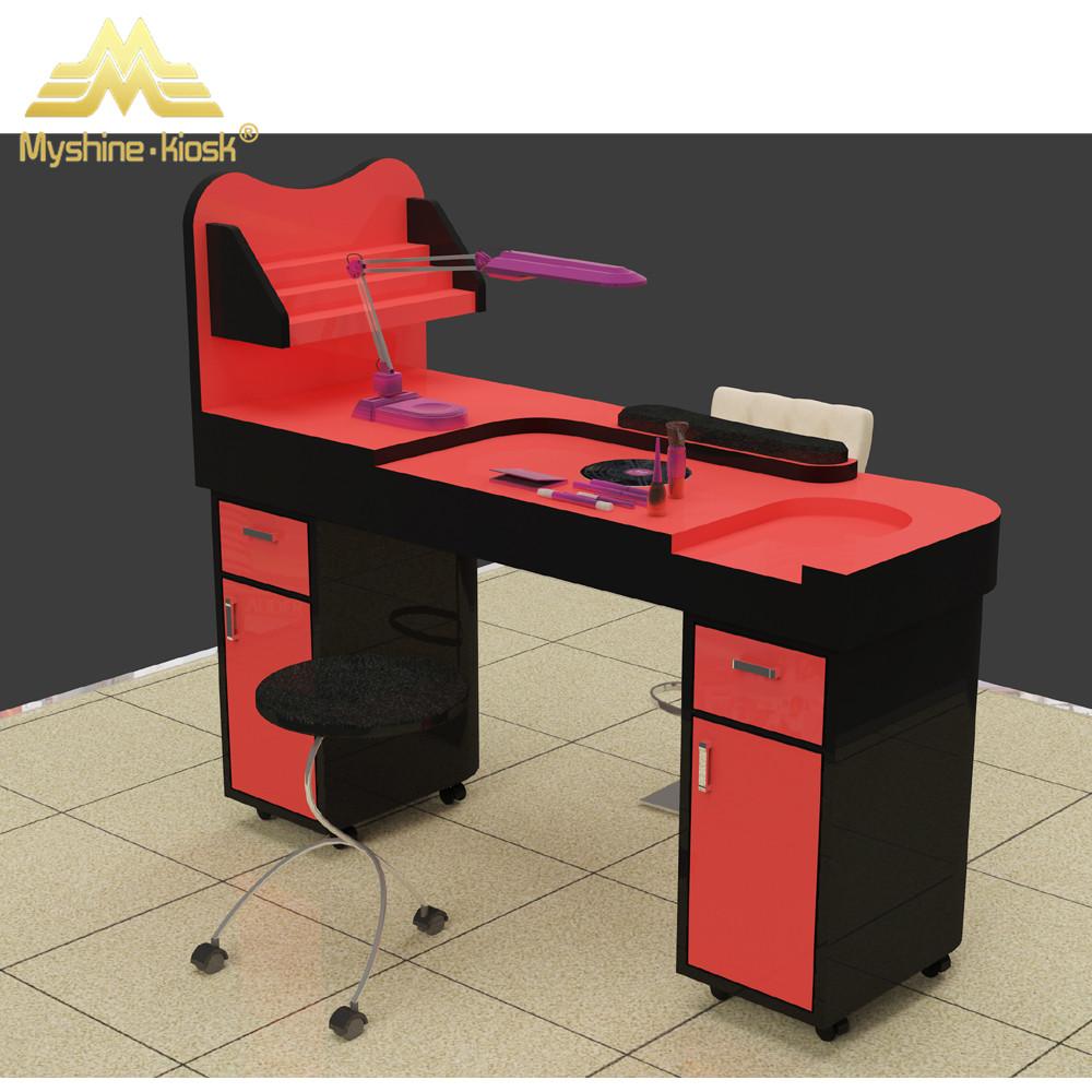 Professional White Nail Salon Table Modern Manicure Table Buy  # Table De Salon En Mdf