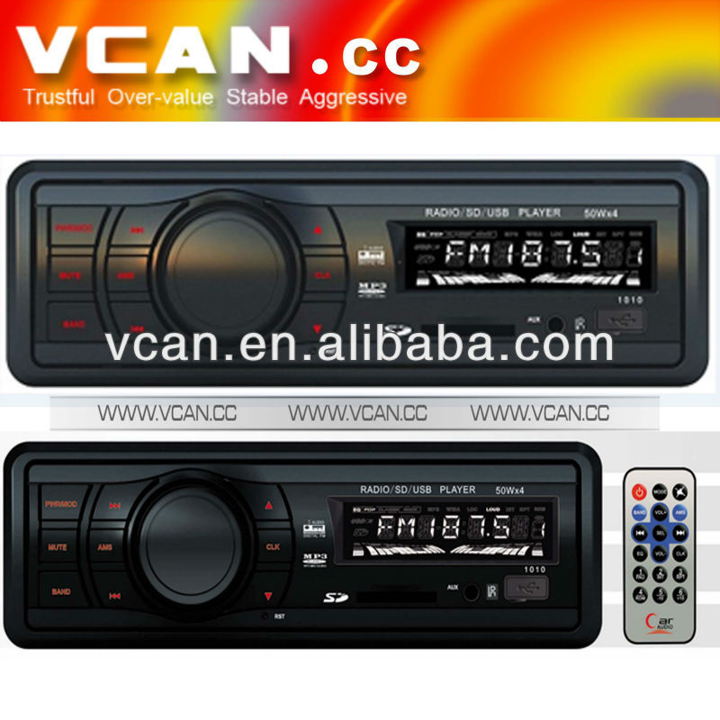 18FM electronic audio control FM MPX receiver USB SD/MMC car MP3 player VCAN0602-2