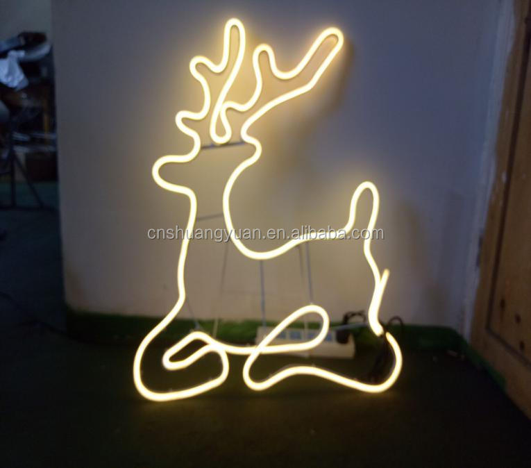 Ourdoor Christmas deer shape light/Motify Rope Christmas Lights