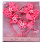 2015 Daiyuan bebê hairband & hair bows set gift set