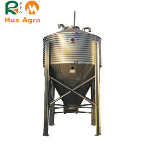 Best Selling poultry and livestock food storage 10 tons silo for feed