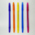 10 pack cheap logo pen, office ball pen for supermarket