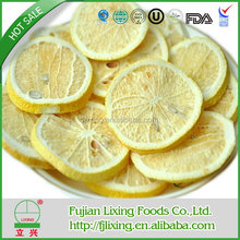 2015 DRIED FRUIT OF CHINESE FD FRUIT FREEZE DRIED LEMON SLICE 5-7MM