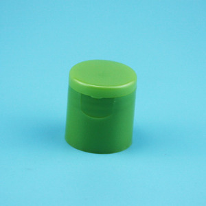 24mm Lotion Flip Top Plastic Cap Colored Mushroom Round Shape
