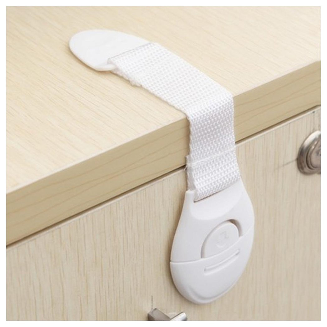 Cabinet Lock, Inkach 5pcs Child Cabinet Door Drawers Refrigerator Toilet Plastic Safety Lock
