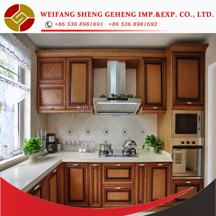 E1 standard Modern Style and Plywood HPL / HPDL,Solid Wood,Melamine Board,MDF,Particleboard Door Material modern kitchen