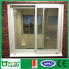 PNOC030105LS Australian standard double glass sliding window with 4 panels