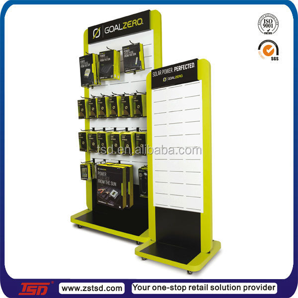 Tsdw40 Double Side Floor Standing Display Stand For Mobile Cool Mobile Phone Accessories Display Stand