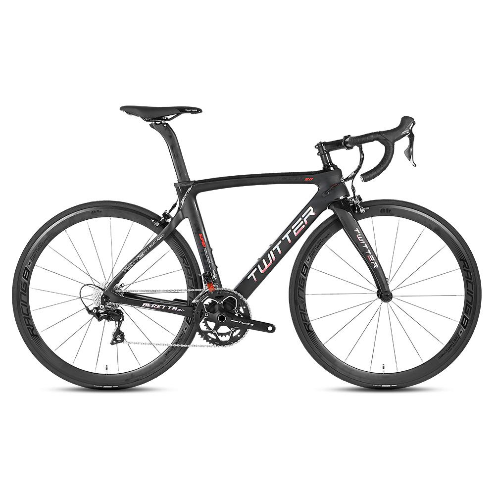 China supplier super light bicycle carbon road bike bicicleta, Blackred / black / blackyellow / blackblue
