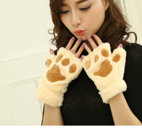 Soft Winter Half Finger New