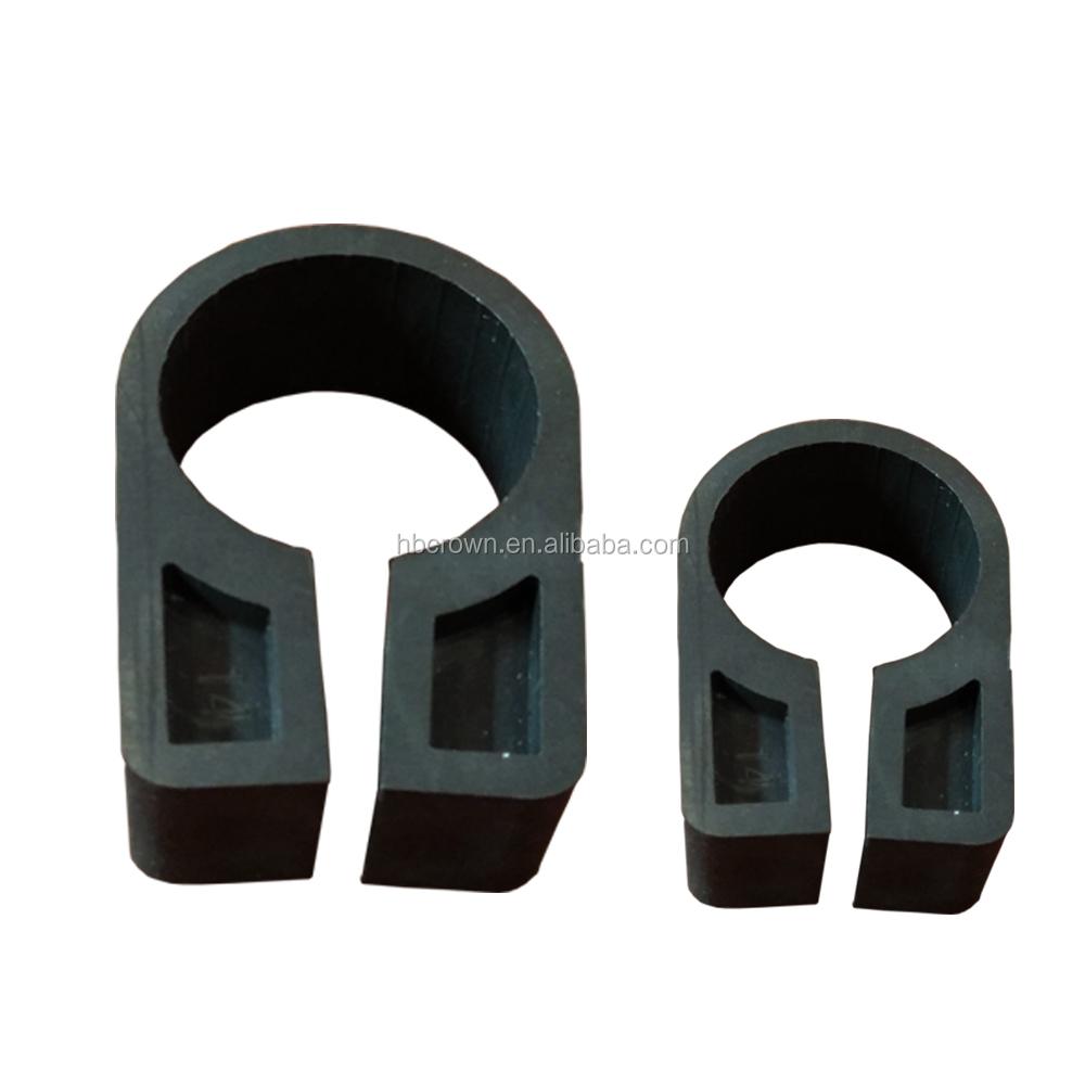Поставка с фабрики высококачественный пластиковый кабельный зажим