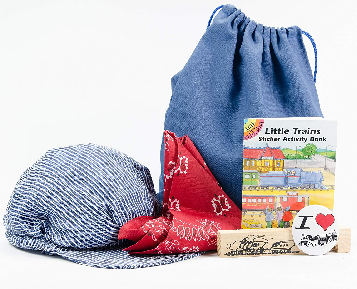 Get Quotations · Train Lovin  Kids Engineer Conductor Accessories Pack e97de50c0948