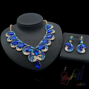 Wholesale American Costume Jewelry Set christmas promotional gift crystal jewelry sets