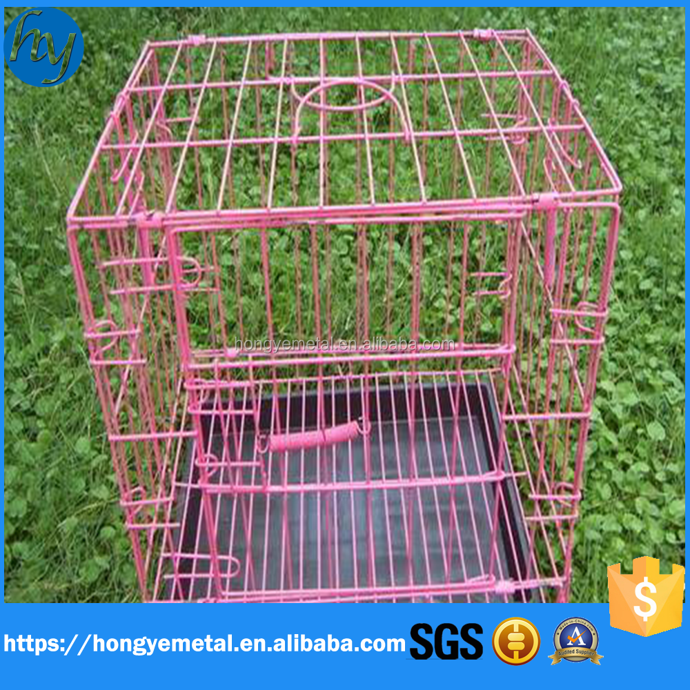 Large Heavy Duty Square Tube Dog Cage Wholesale