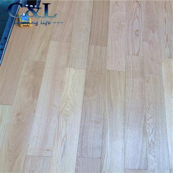 Prefinished Top Grade Natural White Oak Engineered Hardwood Flooring