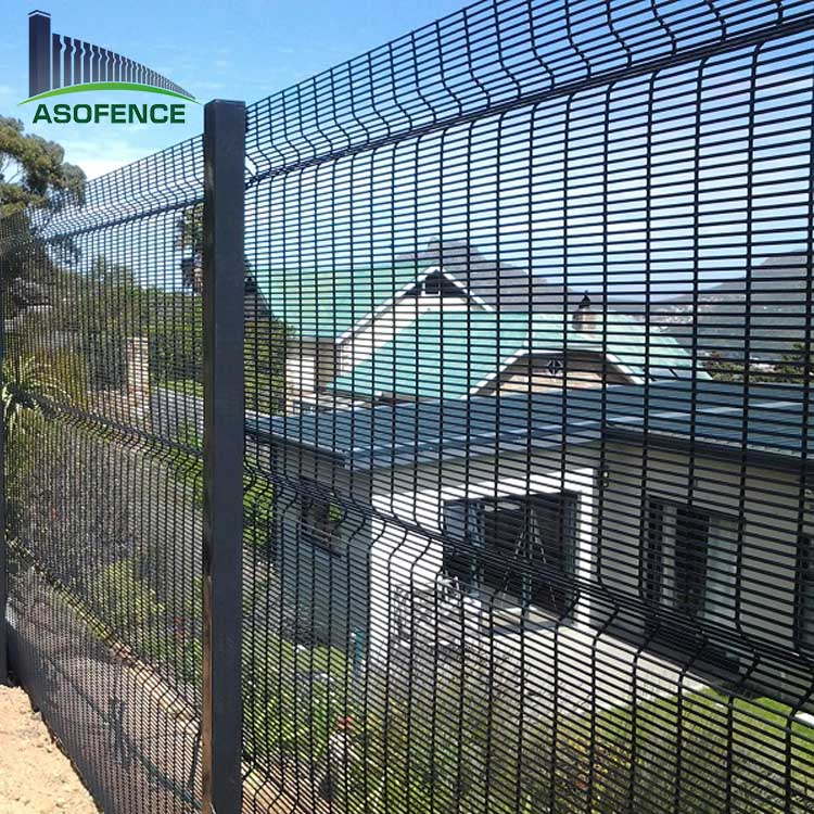 Powder Painted Galvanized Clear Vu Wire Mesh Fence For South Africa ...