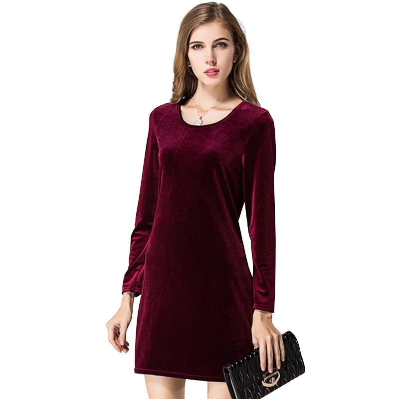 dae51ba99c9 Купить Бархатные Платья Для Женщин оптом из Китая
