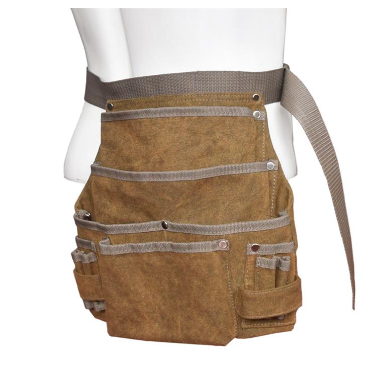 Scaffold Spanner Holder Podger Holder Heavy Duty Suede Leather Tool Belt Holster