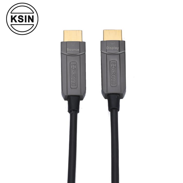 Hot sale 2.0 Active optic support 300m maximum 4K Optical fiber HDMI cable