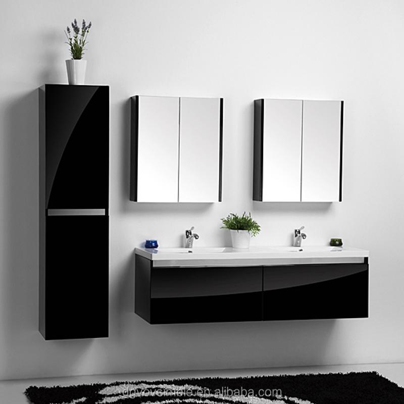 European Modern Bathroom Vanity Furniture Stainless Steel Cabinet Cabinets Basin Product On