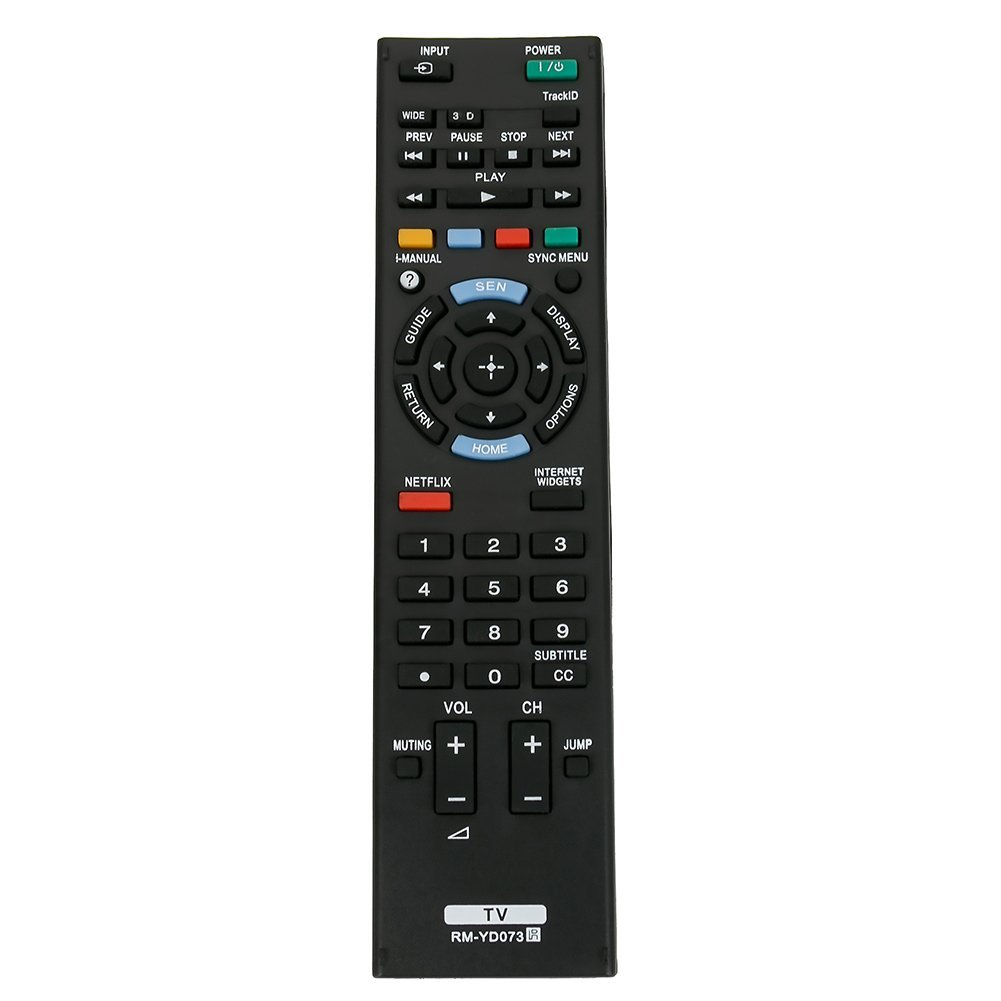 Get Quotations · New RM-YD073 Replaced Remote fit for Sony Bravia TV  KDL-46HX750 KDL-