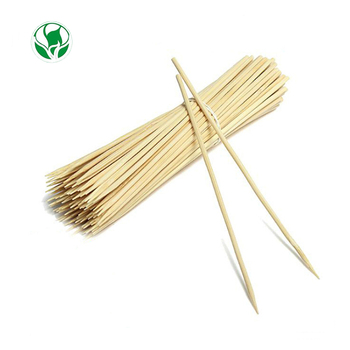100cm customised bamboo marshmallow paddle pick skewers