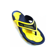 wholesale custom fashion design outdoor summer men rubber slippers
