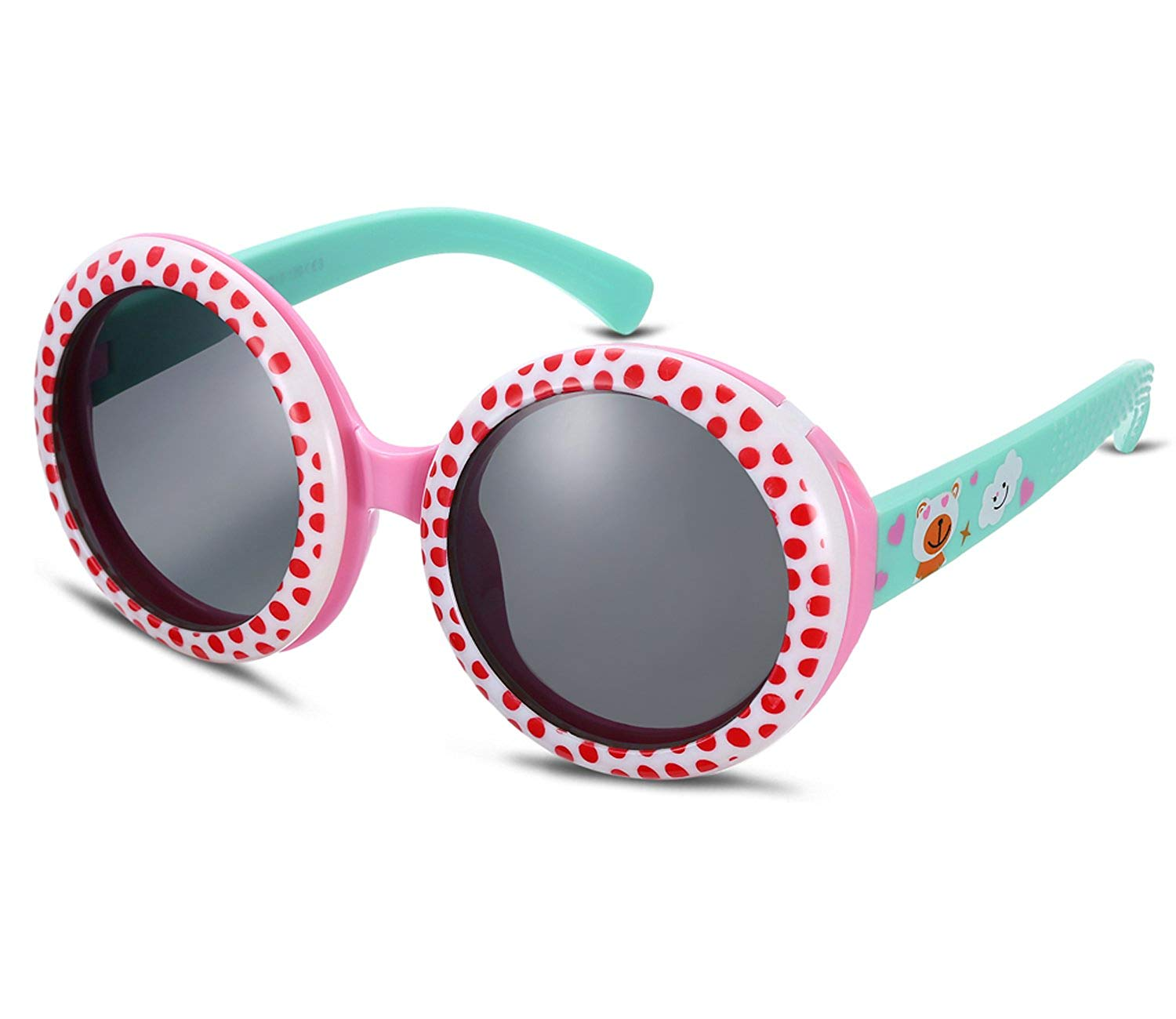 13bab252585 Get Quotations · Kids Renovate Classic Silicone Sunglasses Cute Retro Sun  Glasses for Baby and Children