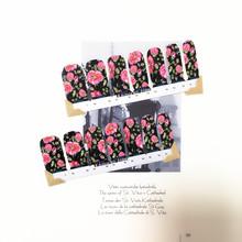 Bright Daffodils Nail Arts Sticker 14 pcs set Waterproof Nail Decal Art Sticker Gel Polish Manicure
