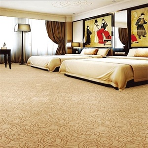 Luxury Commercial Hotel Fireproof Wilton Carpet