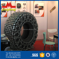 Alloy steel 23.5-25 Tyre protection chain