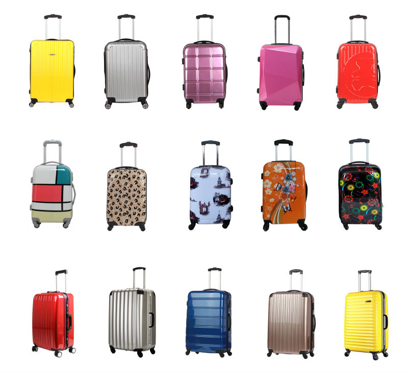 2fc59cb44 Elegant Colorful Travel Hard Luggage/suitcase - Buy Sleeve Stainless ...