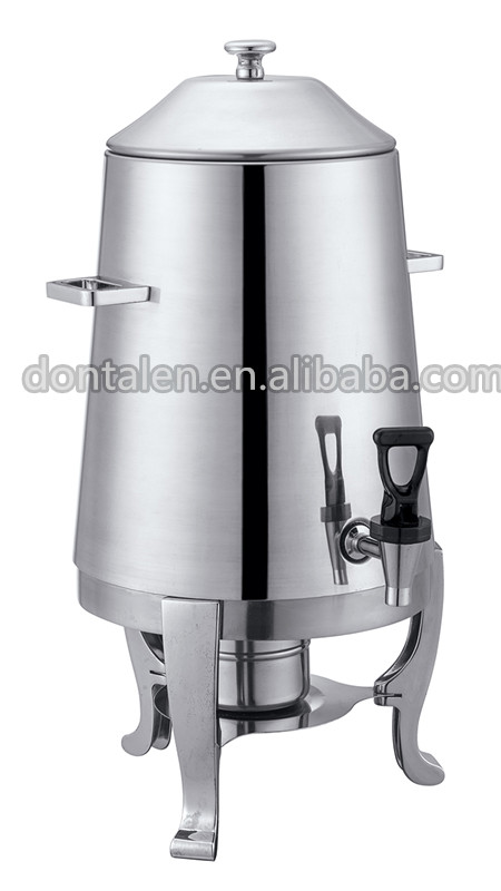 Deluxe Stainless Steel Coffee Dispenser Warmer Machine