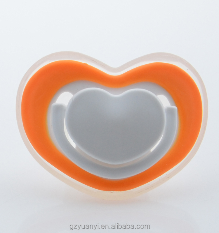 high quality wholesale silicone adult baby traning teething pacifier