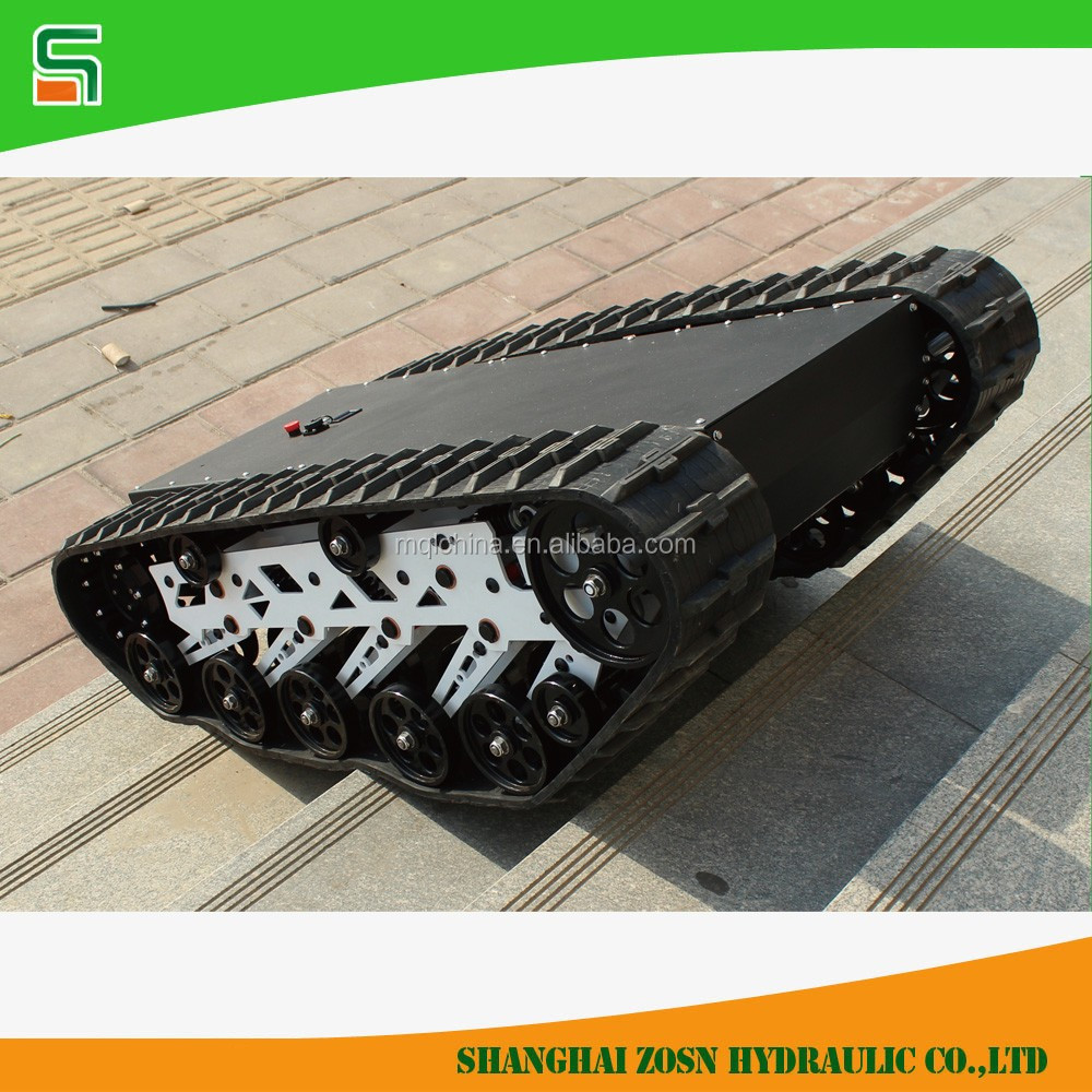 K-03 universal tv remote control car tracked robot chassis for sale
