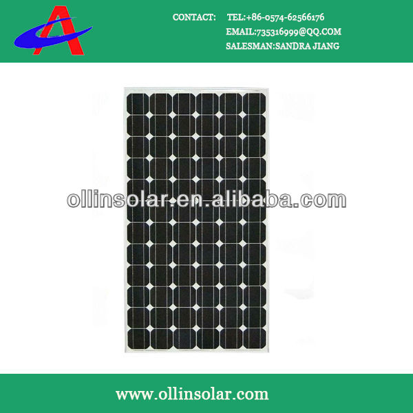 The Best PV Solar Panel Mono Crystalline Silicon With Competitive price
