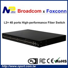 Cost effective gigabit 10 g network switch with high performance chip