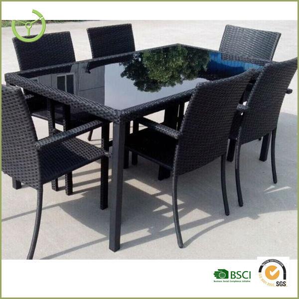 Muebles De Rattan Para Exterior : Venta caliente outdoor muebles de despacho unid poli rattan