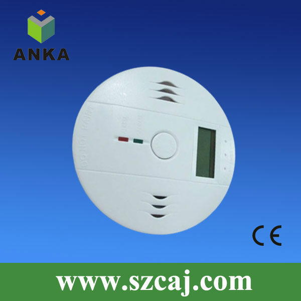 LED display 9V independent co/carbon monoxide detector CE approval new product for 2015 AJ-935