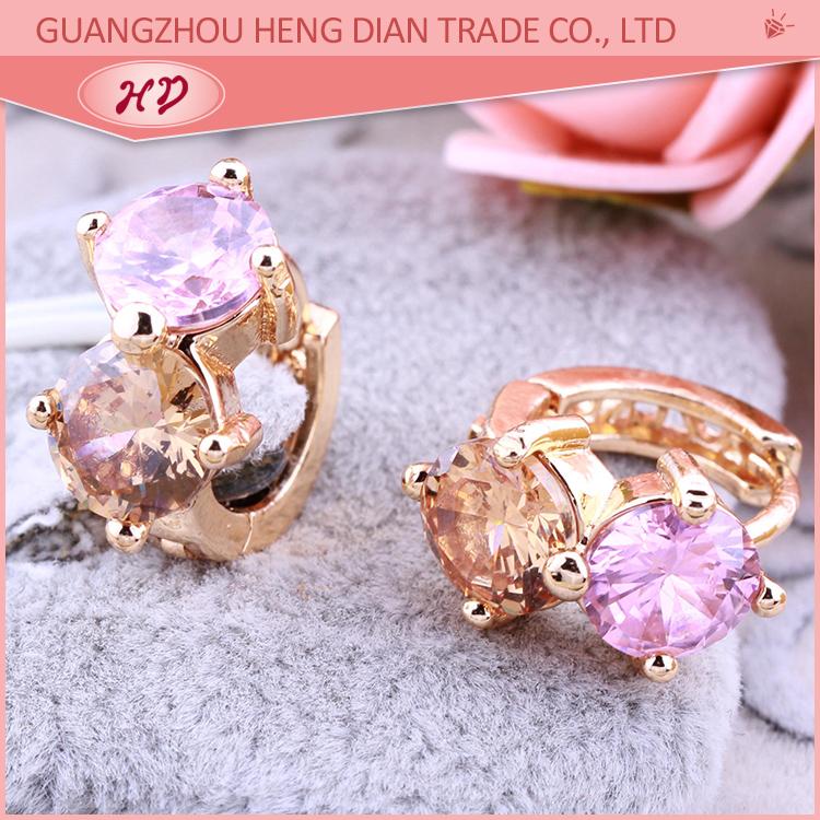 Wholesale Guangzhou Alibaba Express Fashion Rose Gold Jewelry Sets