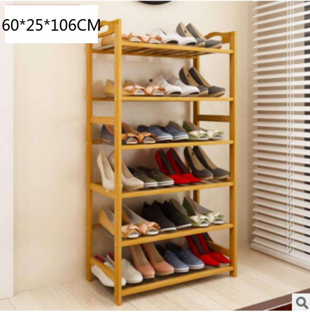 Get Quotations Simple Multi Layer Bamboo Shoe Rack Tower Cabinet Creative Shelf Storage Organizer