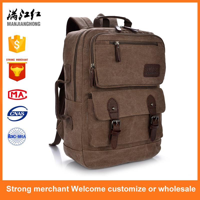 Unisex Fashion Business Travel College Laptop Backpack Knapsack Carrying Handle Bag